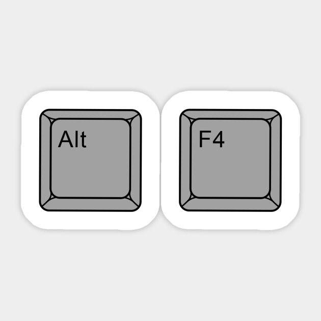چرا Alt+F4 کار نمیکند