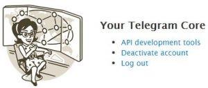 delet اکانت تلگرام