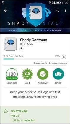 برنامه مخفی کردن پیام