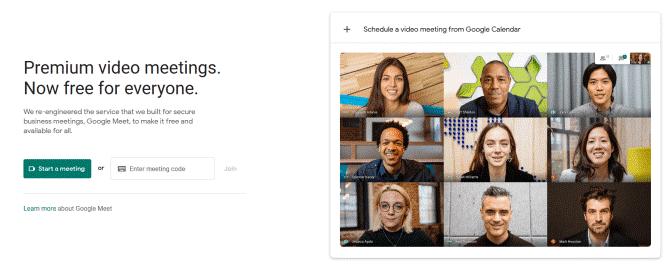 گوگل meet چیست