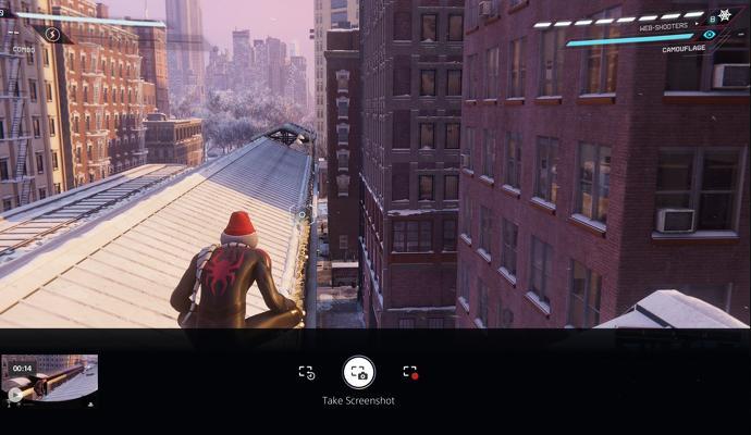 اسکرین شات سریع در پلی استیشن
