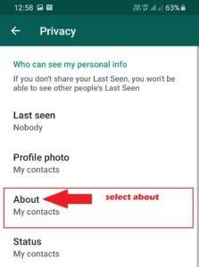 شماره من در واتساپ