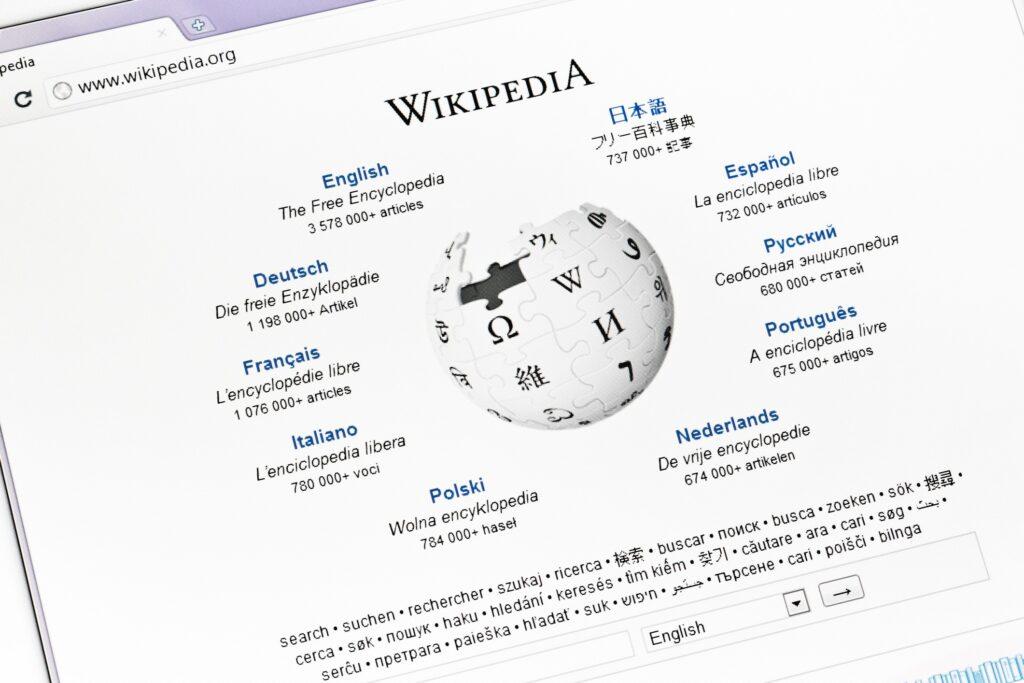 ادیت ویکی پدیا