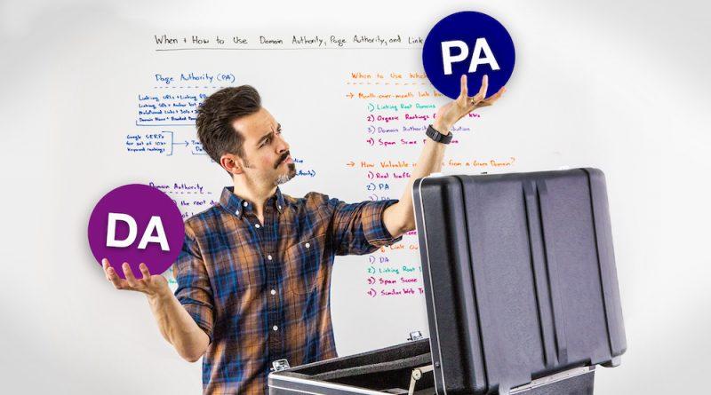 Domain Authority vs Page Authority - تفاوت اعتبار صفحه با اعتبار دامنه