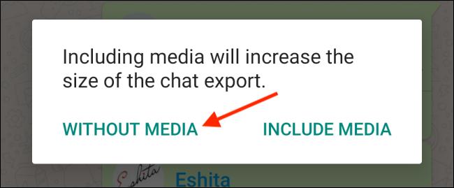 خروجی از چت های تلگرام