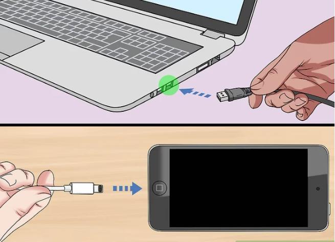 اتصال آیفون به کامپیوتر