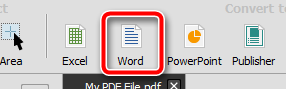 تبدیل PDF به Word Able2Doc Able2Extract