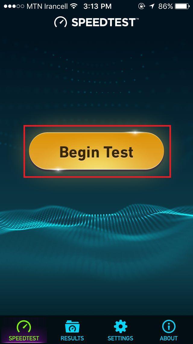 Begin Test.