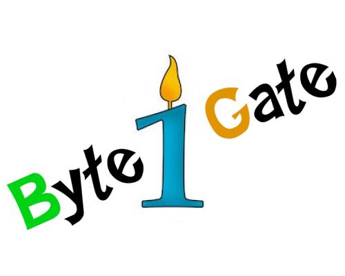 ByteGate first birthday