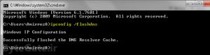 CMD - پاک کردن رکوردهای DNS