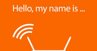 تغییر دادن نام وای فای SSID