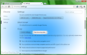 Clear Google Chrome Cache 5