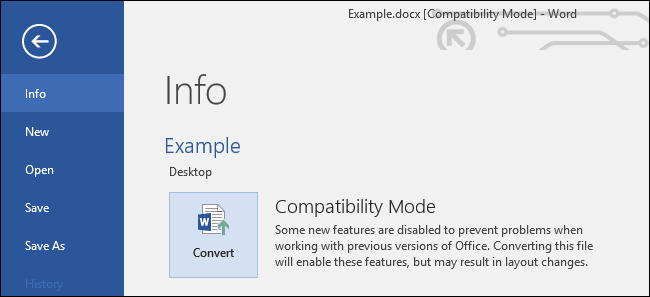 Compatibility mod4.