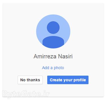 Creating Gmail ساخت ایمیل جیمیل