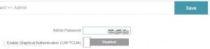 D-Link Managment Admin admin - Password