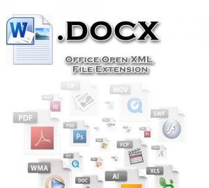 فرمت فایل DOCX ورد