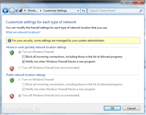 Disable or Enable windows Firewall 14