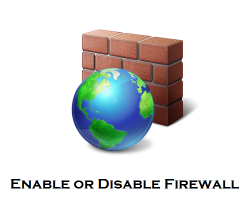 Enable or Disable Firewall