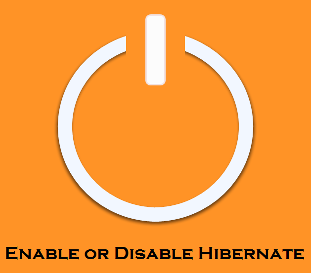 Enable or Disable Hibernate