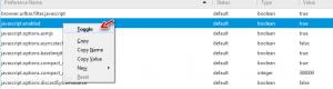 فعال یا غیرفعال کردن جاوااسکریپت در فایرفاکس