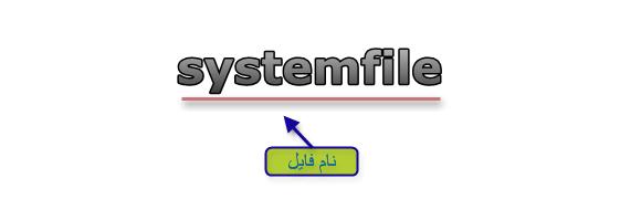یک فایل بدون پسوند
