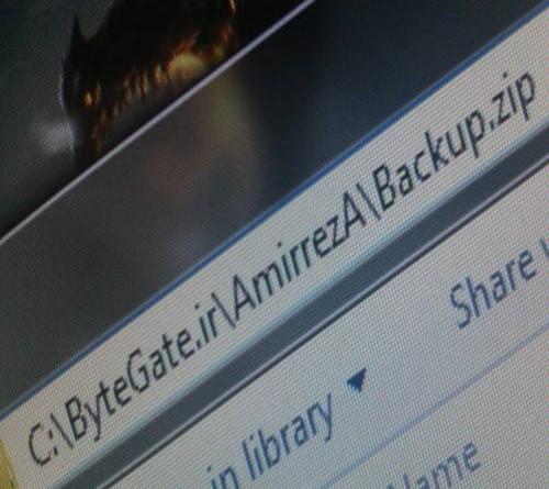 استاندارد نامگذاری فایلها