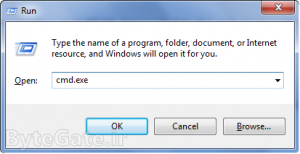 بدست آوردن آدرس مک MAC ویندوز