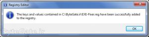 Fix EXE files 3