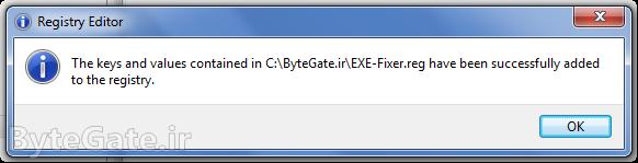 فایل exe
