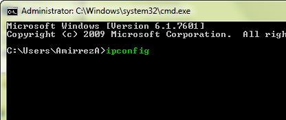 آدرس IP آی پی کامپیوتر
