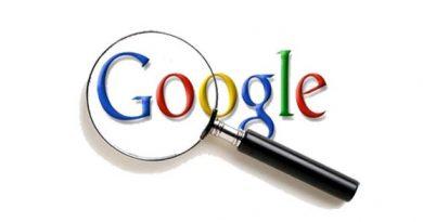 تاریخچه جستجو گوگل