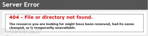 HTTP 404 Error 3