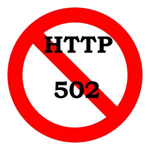 HTTP ERROR 502