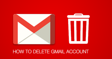How to delete Gmail account