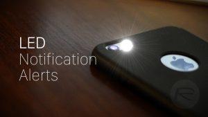 LED flash alart HD