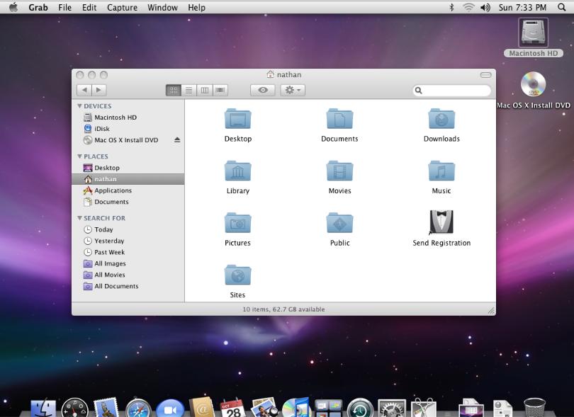 سیستم عامل OS X