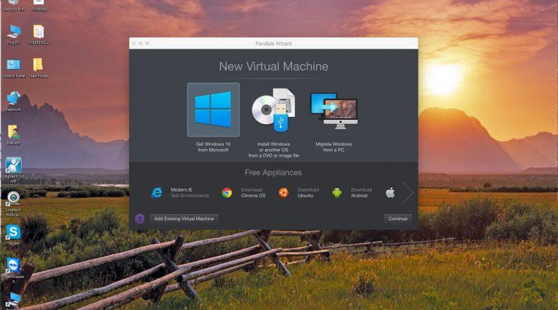 اجرای ویندوز روی مک