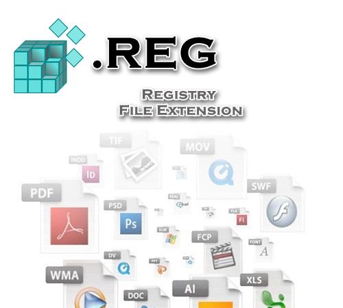 فرمت فایل REG رجیستری