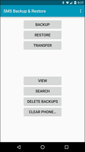 SMS-backup-restore-menu