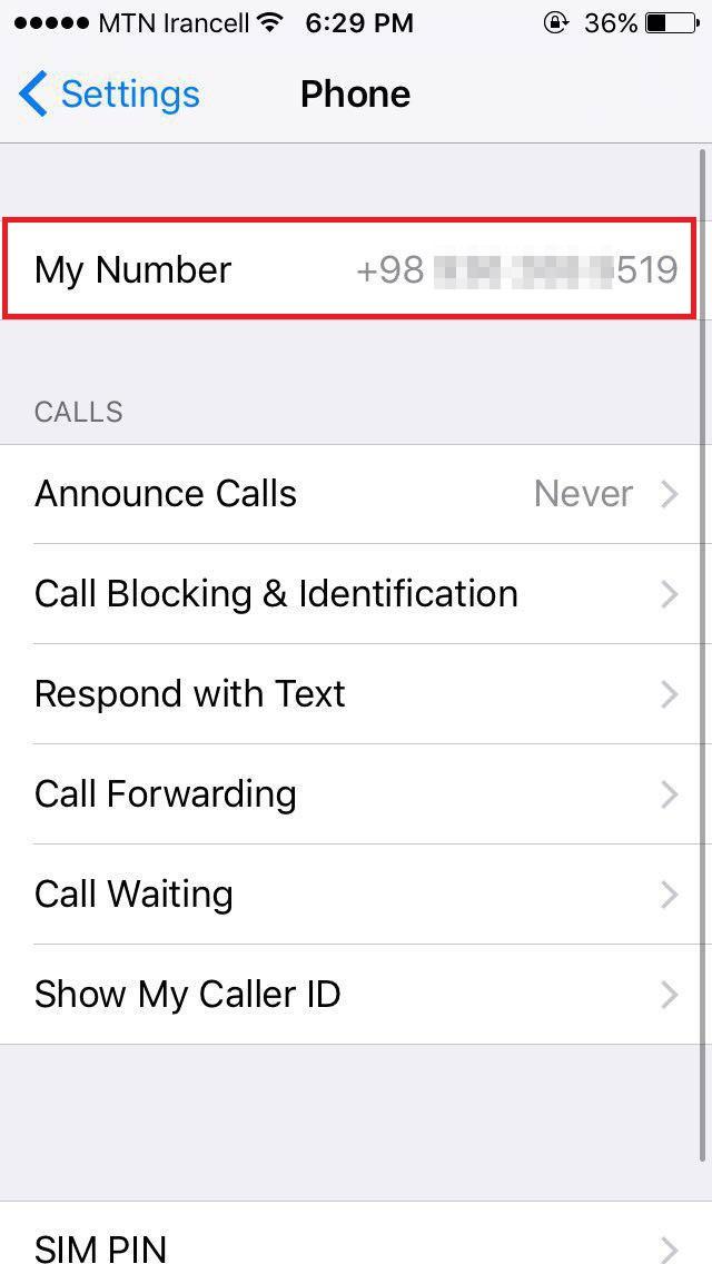 Settings-Phone
