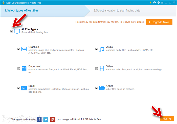 EaseUS Data Recovery Wizard Free