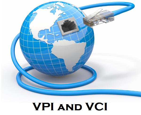 VCI and VPI Header