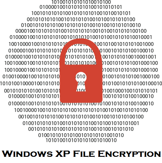 Windows XP encryption