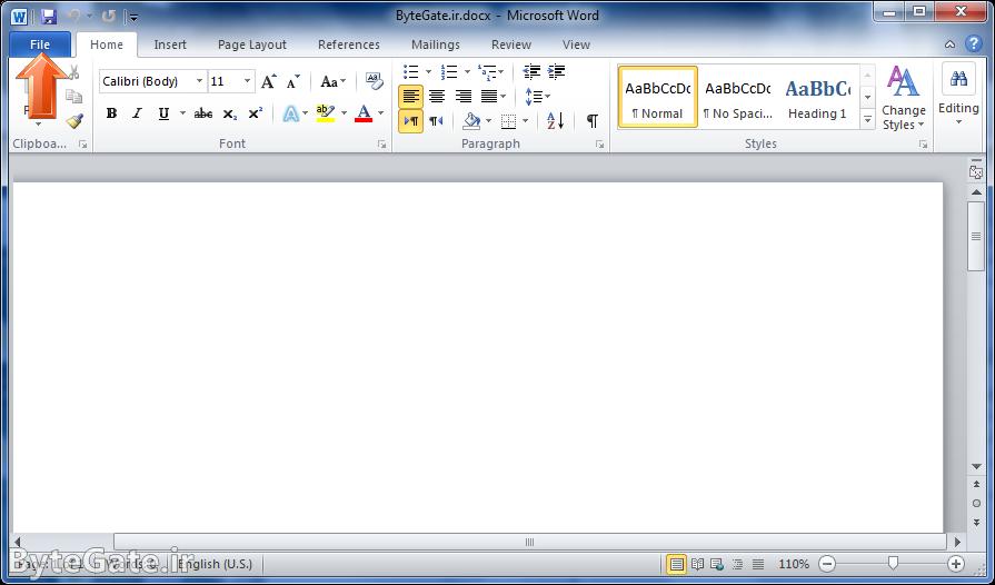 بازیابی فایل ورد