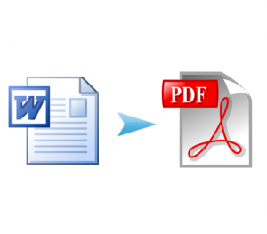 Word to PDF doc docx