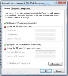 adapter properties general