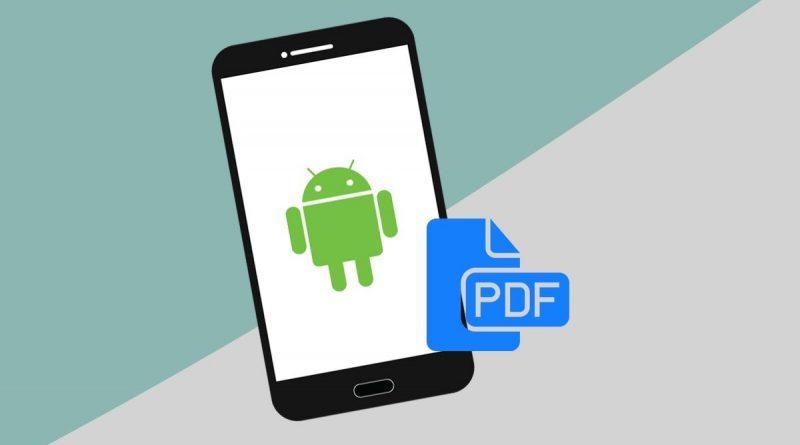 بازکردن PDF در اندروید