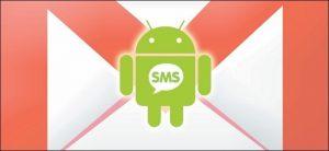 backup SMS in gamil