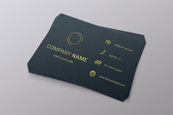 business-card in photoshop