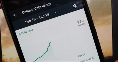 cellular data usage